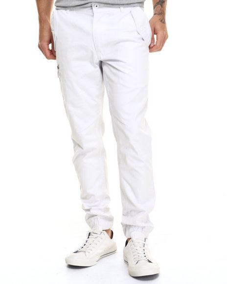 Ur-ID 217107 Born Fly - Men White Powell Joggers