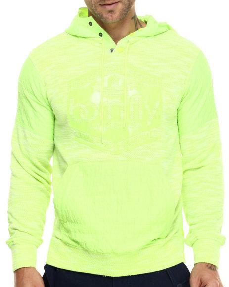 Ur-ID 217113 Born Fly - Men Neon Green Anderson Hoodie