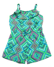 Sizes 4-6x - Kids - GEO PRINT ROMPER (4-6X)