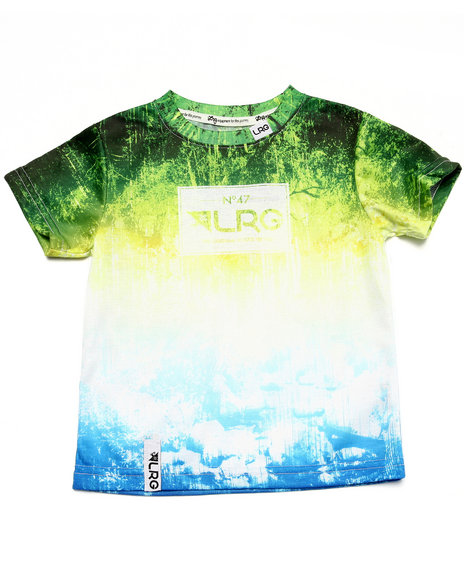 Lrg - Boys Green Roots People Tee (2T-4T)