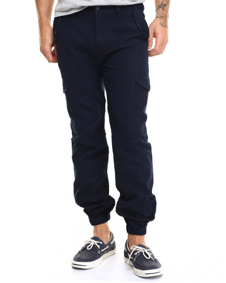 Ur-ID 217099 Born Fly - Men Navy Begel Cargo Pants