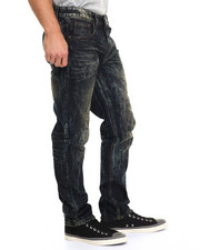 Buyers Picks - S R Straight - Fit Crackled Jeans