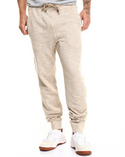 Pants - MELANGE FRENCH TERRY JOGGER SWEATPANTS