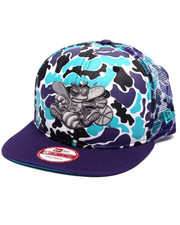 Hats - Charlotte Hornets Camo face 950 Snapback hat