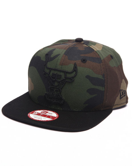 New Era Men Chicago Bulls Off Liner 950 Snapback Hat Camo