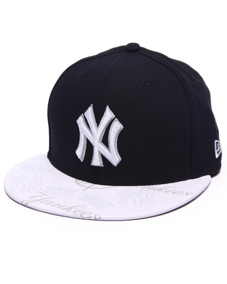 Ur-ID 217150 New Era - Men Navy New York Yankees Clearvize 5950 Fitted Hat