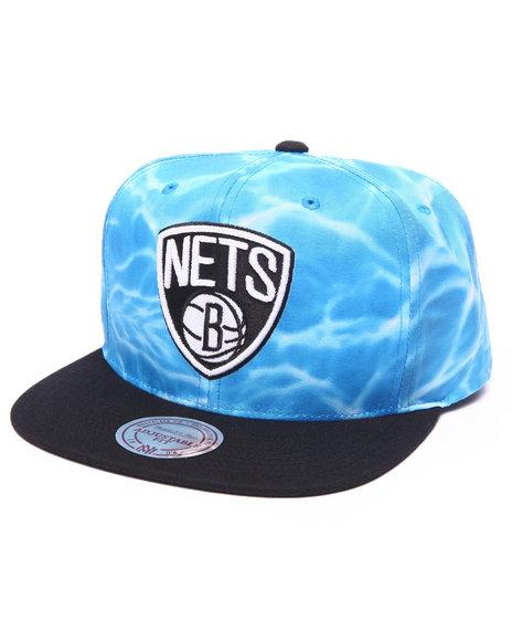 Ur-ID 223159 Mitchell & Ness - Men Multi Brooklyn Nets Surf Camo Snapback Hat