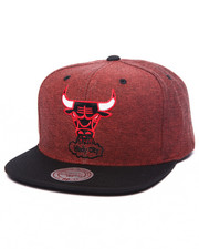 Men - Chicago Bulls Denim Harry 2 tone Snapback Hat