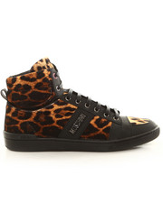 Sneakers - Moschino X J.S. Leopard Hi-Top