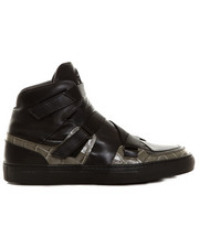 Sneakers - Versace Collection Croc Stamped Hi-Top