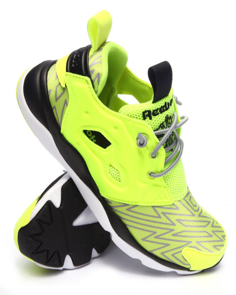 Reebok - Boys Yellow Furylite Sneakers ( 3.5-7)