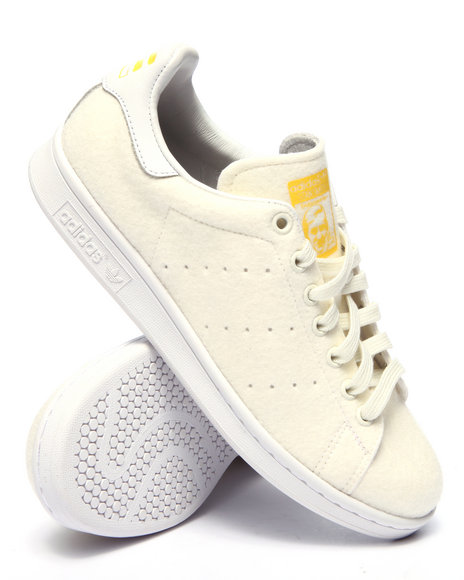 Ur-ID 217203 Adidas - Men White Pharrell Williams Stan Smith Tennis Shoes