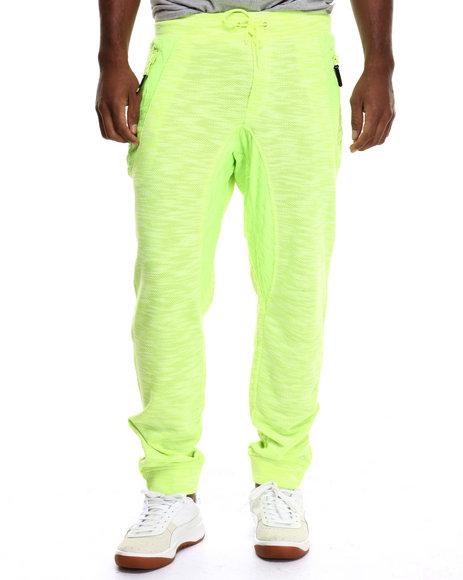 Ur-ID 217184 Born Fly - Men Neon Green Ankira Joggers