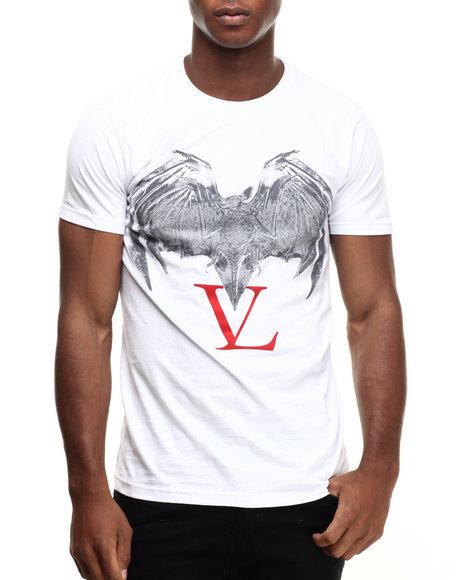 Ur-ID 217190 Vampire Life - Men White Bat T-Shirt