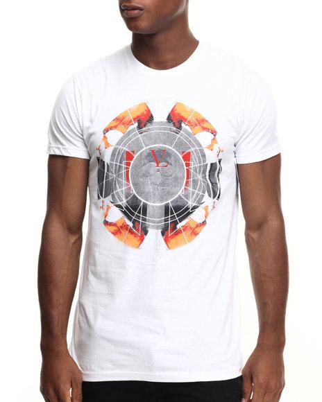 Ur-ID 217193 Vampire Life - Men White The Circle T-Shirt