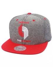 Mitchell & Ness - Portland Trailblazers Denim Harry 2 tone Snapback Hat