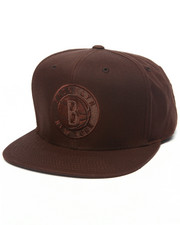 Mitchell & Ness - Brooklyn Nets Waxed Canvas Strapback hat
