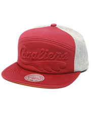 Mitchell & Ness - Cleveland Cavaliers Debossed foam puff snapback hat