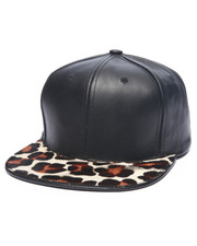 Hats - Pradagy Genuine Cheetah - Hair Strapback Hat
