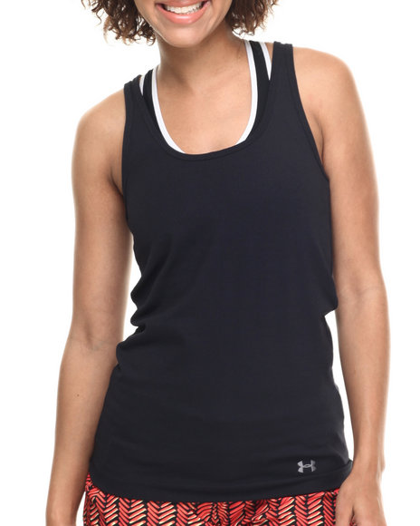 Ur-ID 216866 Under Armour - Women Black Ua Surftide Quick Dry Tank Top