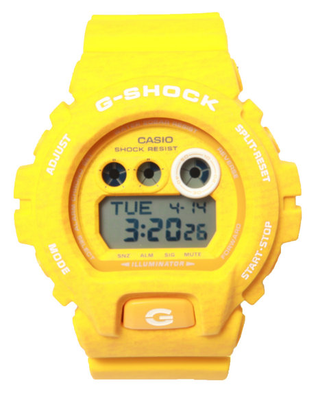 G-Shock By Casio Men Gdx-6900 Heathered Color Watch Yellow