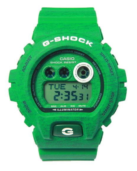 G-Shock By Casio Men Gdx-6900 Heathered Color Watch Green