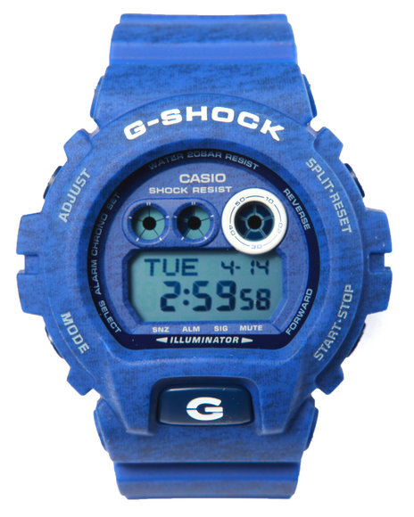 G-Shock By Casio Men Gdx-6900 Heathered Color Watch Blue
