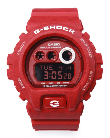 G-Shock By Casio Men Gdx-6900 Heathered Color Watch Red