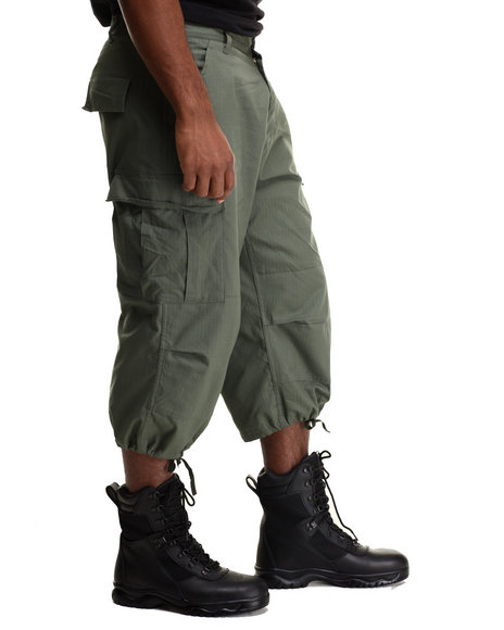 Drj Army/Navy Shop - Men Olive Rothco 6-Pocket Bdu 3/4 Pants