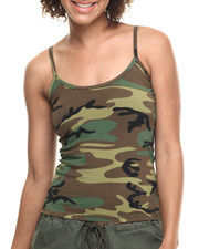 DRJ Army/Navy Shop - Rothco Woodland Camo Tank Top