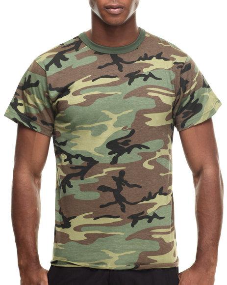 Ur-ID 217076 DRJ Army/Navy Shop - Men Camo Rothco Camo T-Shirts