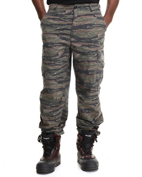 Drj Army/Navy Shop - Men Camo Rothco Vintage Vietnam Fatigue Pant Rip-Stop