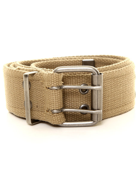 Drj Army/Navy Shop - Men Khaki Rothco Vintage Double Prong Buckle Belt
