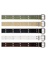Rothco - Rothco Vintage Double Prong Buckle Belt