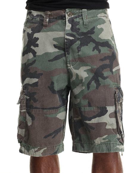 Ur-ID 217084 DRJ Army/Navy Shop - Men Camo Rothco Vintage Camo Infantry Utility Shorts