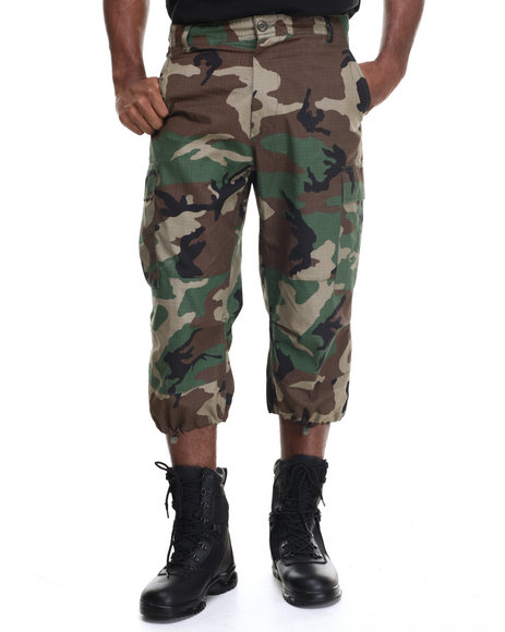 Drj Army/Navy Shop - Men Camo Rothco 6-Pocket Bdu 3/4 Pants