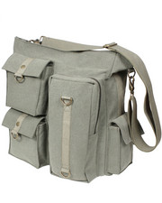 DRJ Army/Navy Shop - Rothco Vintage Multi Pocket Messenger Bag