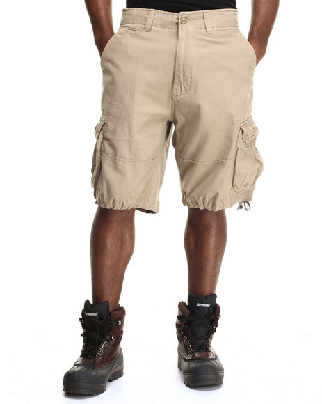 Drj Army/Navy Shop - Men Khaki Rothco Solid Vintage Infantry Utility Shorts