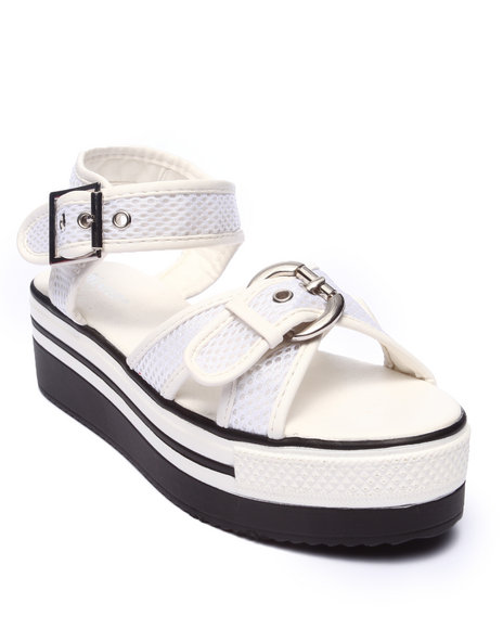 Fashion Lab White Sandals