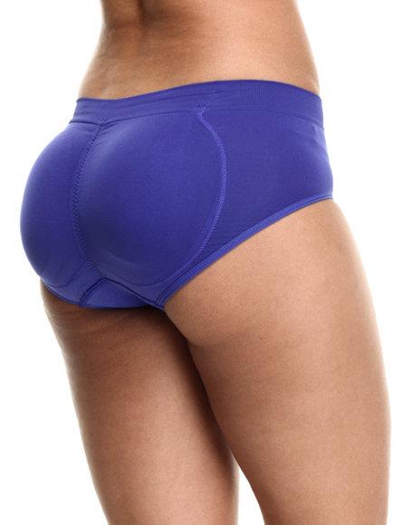 Ur-ID 217209 DRJ Lingerie Shoppe - Women Purple Butt Enhancing Seamless Panty