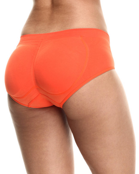 Drj Lingerie Shoppe - Women Orange Butt Enhancing Seamless Panty