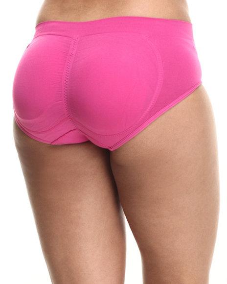 Drj Lingerie Shoppe - Women Dark Pink Butt Enhancing Seamless Panty