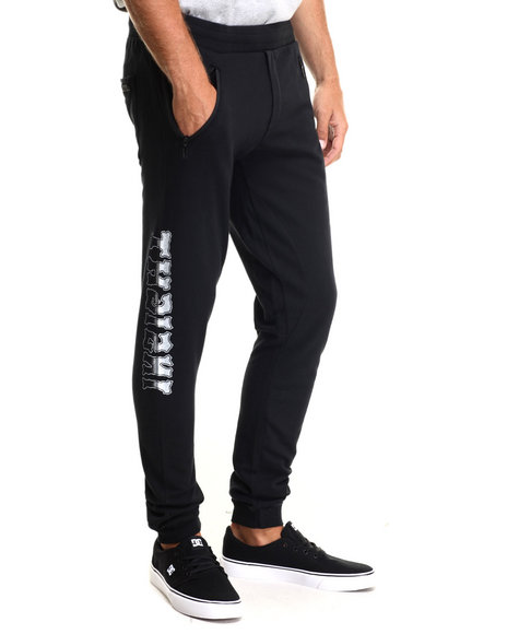 Ur-ID 216174 Insight - Men Black Rugby Hateless Sweatpant