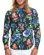 Shirts - Floral L/S Button-Down