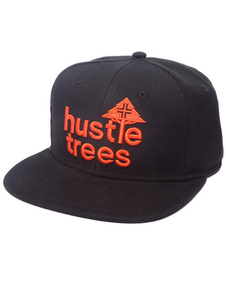 Lrg Men Hustle Trees Snapback Black
