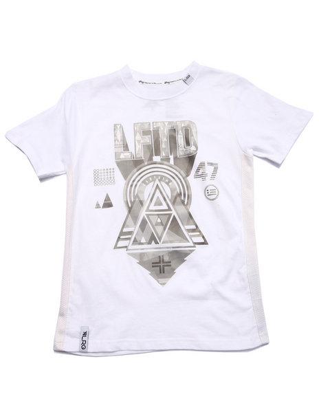 Lrg - Boys White Future Crest Tee (8-20) - $16.99