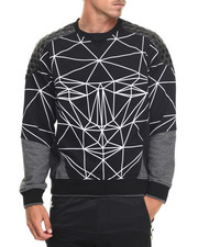 Men - Geometric Sweatshirt