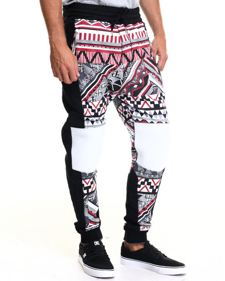 Allston Outfitter - Men Black Chi-Town Navajo Jogger