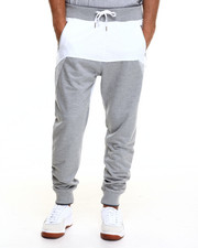 Pants - Mesh & French Terry Joggers