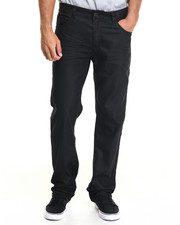 Buyers Picks - Blacked Coated Back flap pocket denim jeans